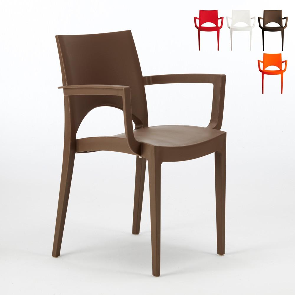 24 Cadeiras com apoio de braços bar restaurante PARIS ARM Grand Soleil - offert