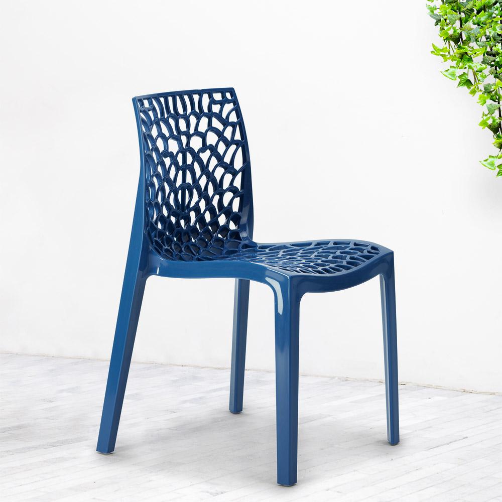 Cadeiras De Cozinha Polipropileno Empilháveis Gruvyer Grand Soleil