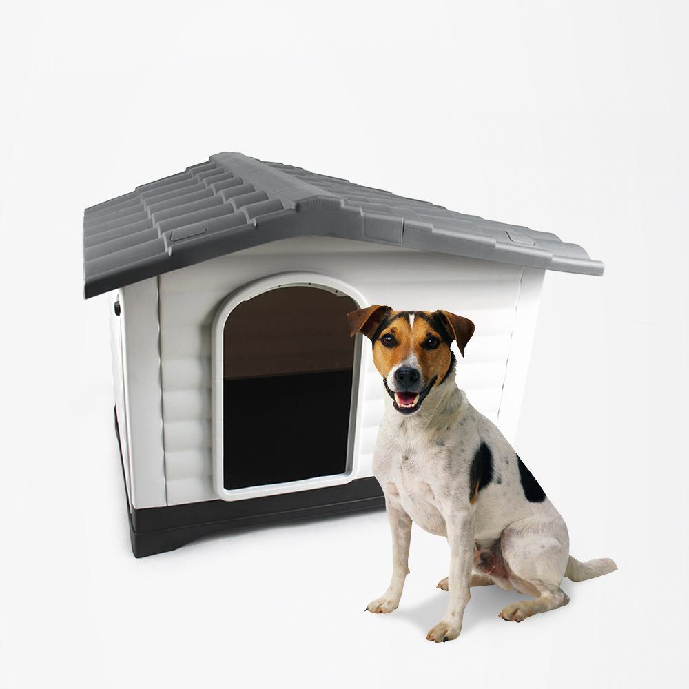 Casota para cães de plástico para cães pequenos fora de Lola