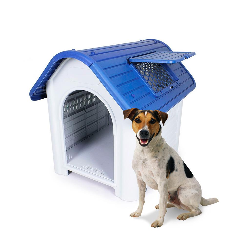 Casota Para Cães De Plástico Tamanho Pequeno Dentro De Fora Ollie