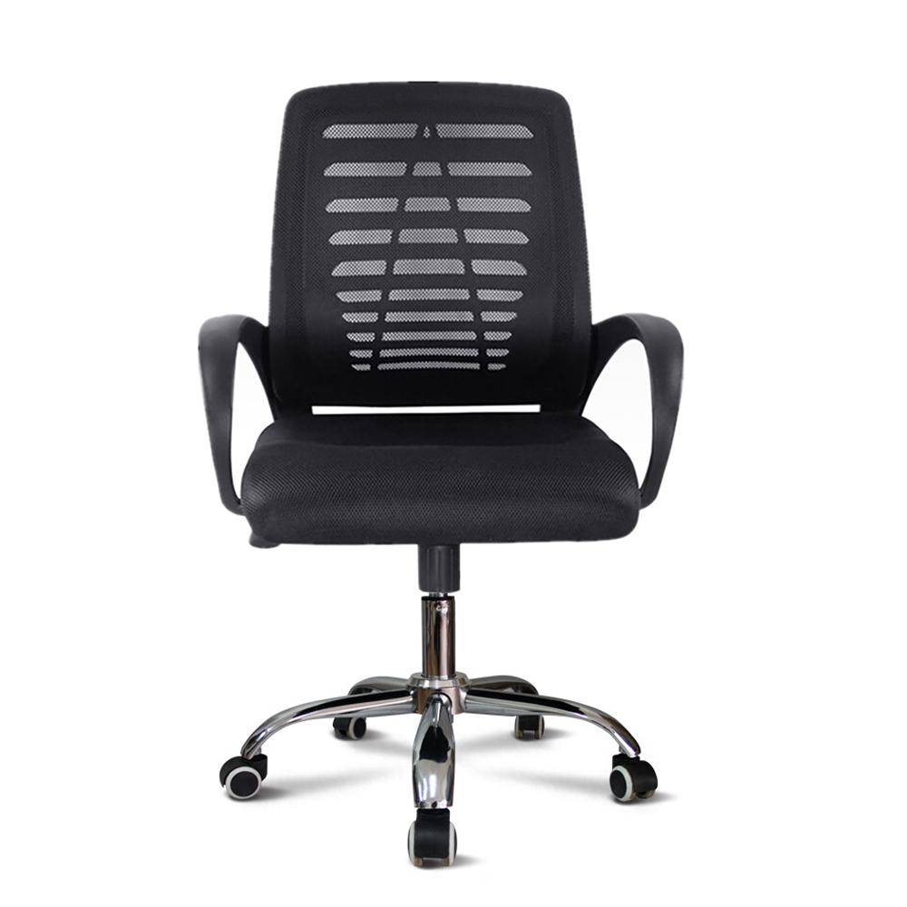 Cadeira ergonômica giratória estofada em tecido respirável Opus