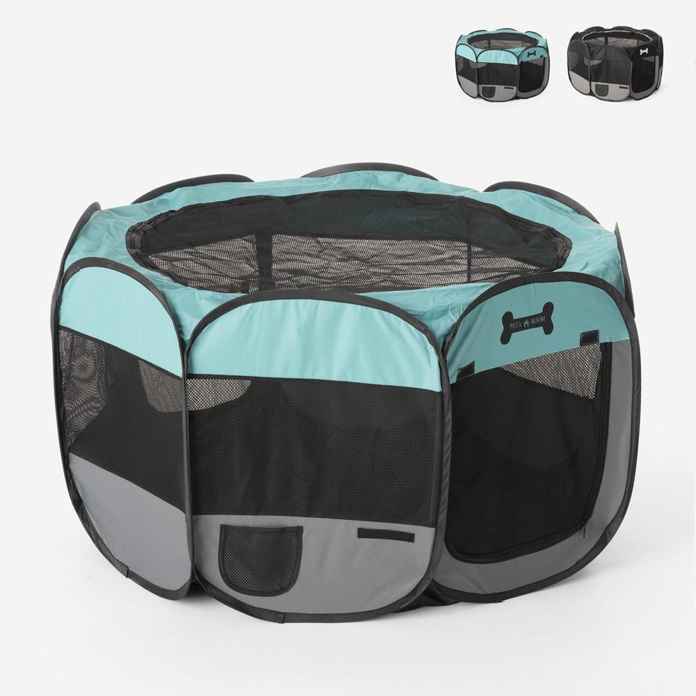 Transportadora para animais de estimação dobrável portátil 110x62cm dentro e fora Panoramik