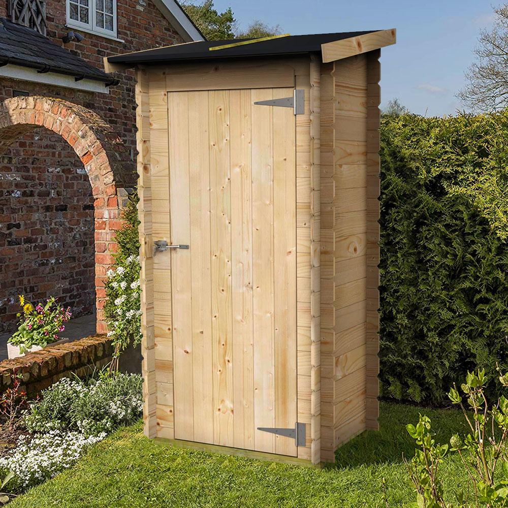 Casa de madeira para jardinagem ao ar livre ferramentas de bricolage Arturo 98x64