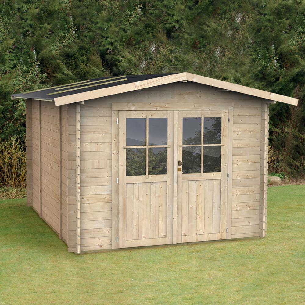 Galpão de madeira para caixa de ferramentas de jardinagem Opera 249x249