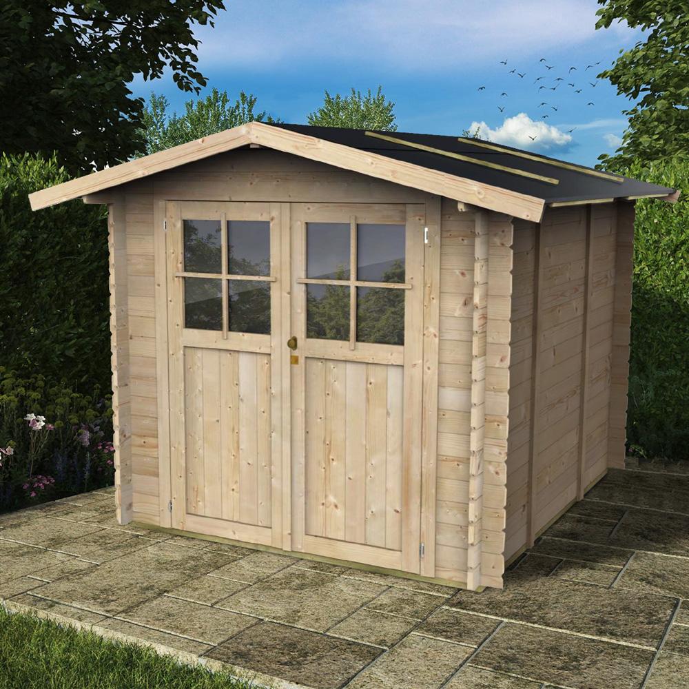 Caixa de ferramentas de madeira para jardim Opera 215x249